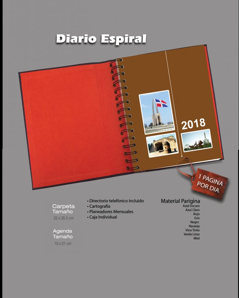 Carpeta Espiral Diario